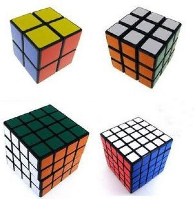 Shengshou rubick rubix migic puzzle cube Set