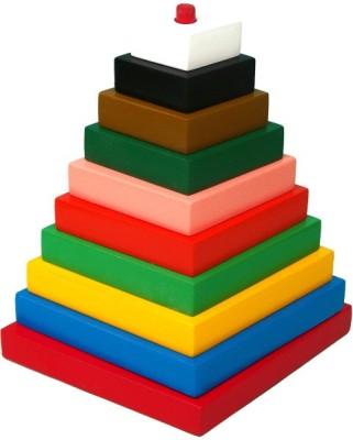 Tomafo Build-A-Tower-Rectangle (Big-10 pieces)