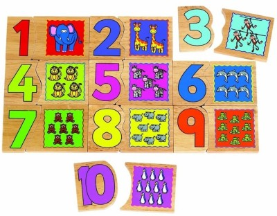 Tidlo Match and Count Puzzle