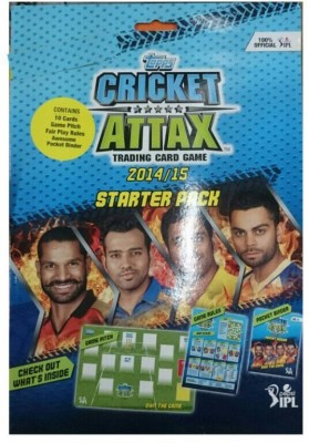 topps CRICKET ATTAX 2014-15 STARTER PACK