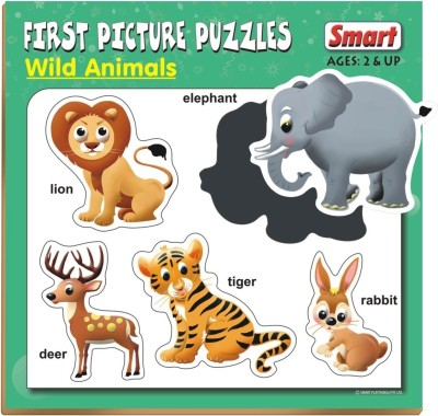 Smart First Picture Puzzles - Wild Animals