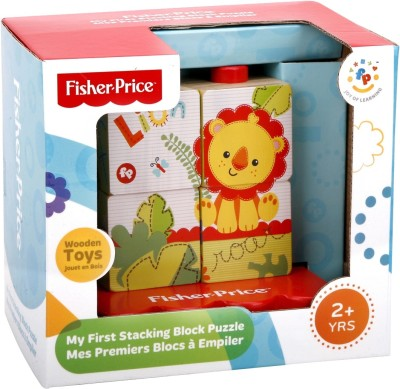 Fisher-Price My First Stacking Block Puzzle(Multicolor)