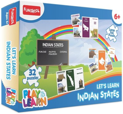 Funskool Play & Learn Let's Learn Indian States