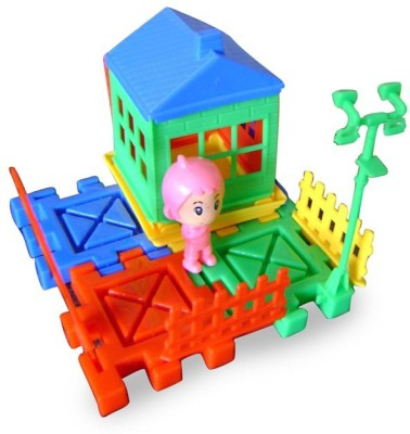 Dinoimpex Home Building Block for Kids
