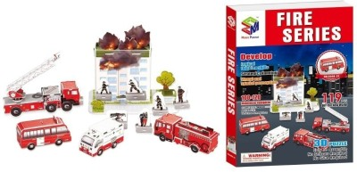China Topwin 3D Puzzle-Fire Series
