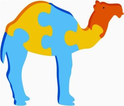 Kinder Creative Jigsaw Puzzle - Camel