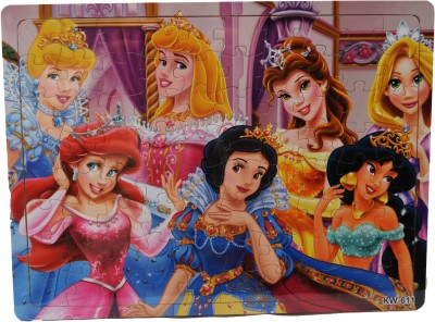 ZOLU Wooden Jigsaw puzzle Princess collection