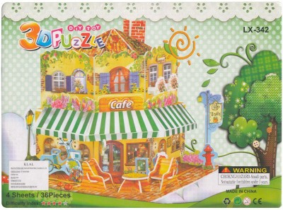 DreamBag 3D Puzzle of The Cafe