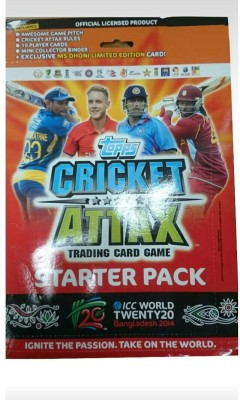 topps CRICKET ATTAX T20 STARTER PACK