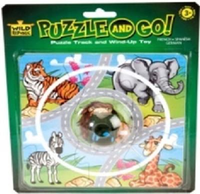 Wild Republic Blst Puzzle Track Car Animal