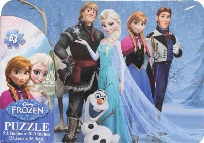 Disney Frozen Tin Tote Box Puzzle