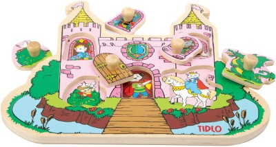 Tidlo My First Peg Puzzle - Princess Castle