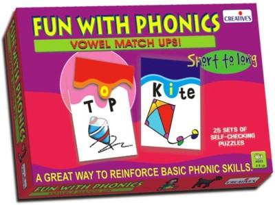 Creative's Fun with Phonics - Vowel Match Ups