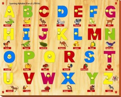 Kinder Creative Learning Alphabet