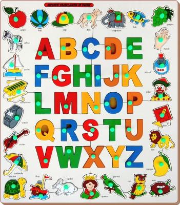 Little Genius Alphabets Object Match up Puzzle
