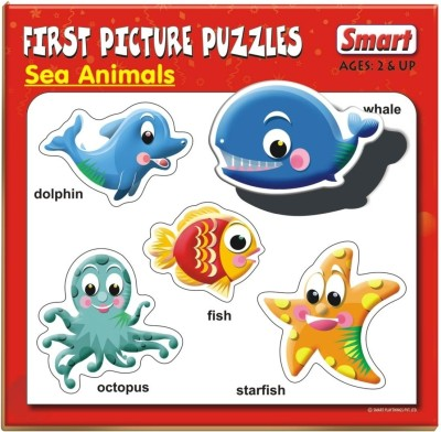 Smart First Picture Puzzles - Sea Animals