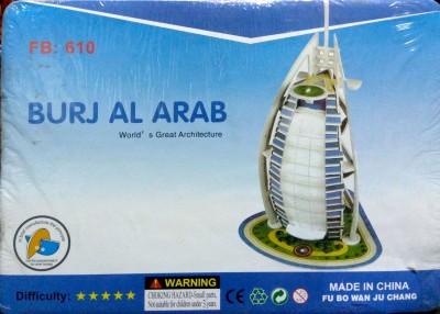 UniqueToys Super 3D Puzzle Burj Al Arab
