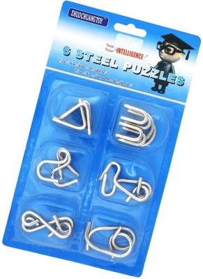 Shopaholic Stainless Steel 6 Metallic - Intellectual Puzzles