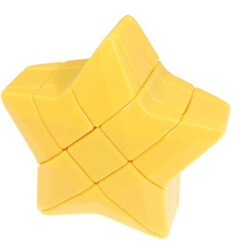 Pro Taxton Star Shape 3x3 Twisty Puzzle Cube - Yellow(1 Pieces)