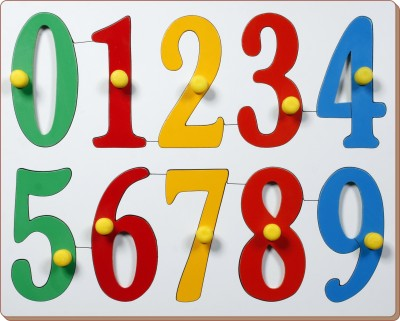 Little Genius Jumbo Numbers with Big Knobs