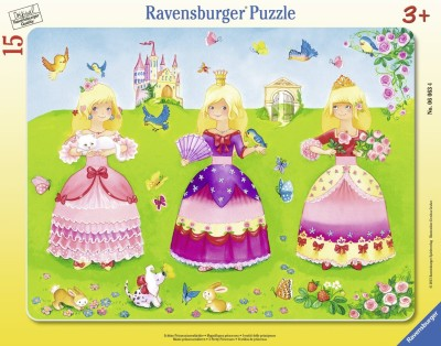 Ravensburger Pretty Princesses - My First Frame Puzzle