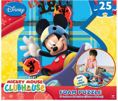 Cardinal Mickey Giant Foam Puzzle