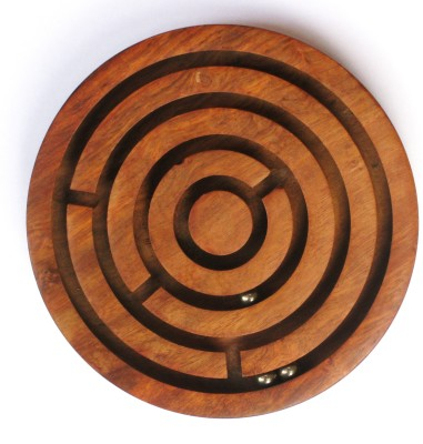 Stylezit Wooden maze Chennapatna crafted puzzle