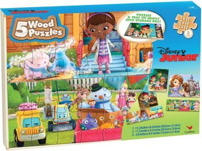 Disney Junior Puzzle Set in Storage Box
