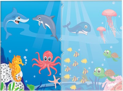 TOY KRAFT Sea Animals