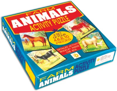 Creative's Early Puzzles - Farm Animals