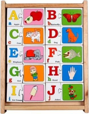 TOMAFO Alphabet Interlock Puzzle