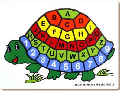 Tomafo Alphabet Turtle Puzzle