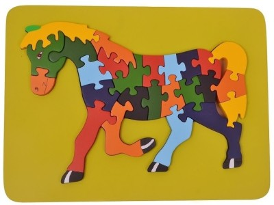 wood o plast Horse Raised Puzzle Tray