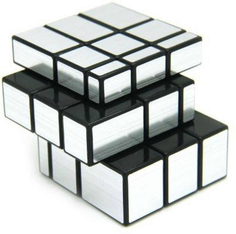 Playking 3x3 Silver Mirror Puzzle Cube(1 Pieces)