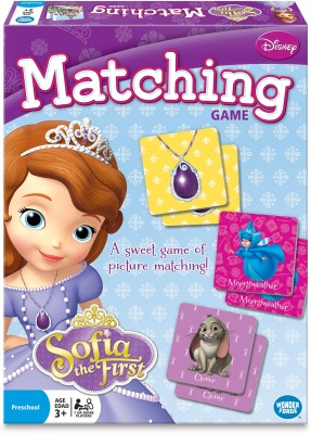 Disney Sofia The First Matching Game Wonder Forge