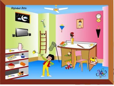 Kinder Creative Through Memory Lane: Alphabet Attic