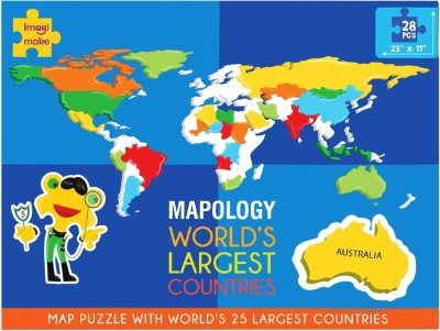 Imagimake Mapology - World's Largest Countries