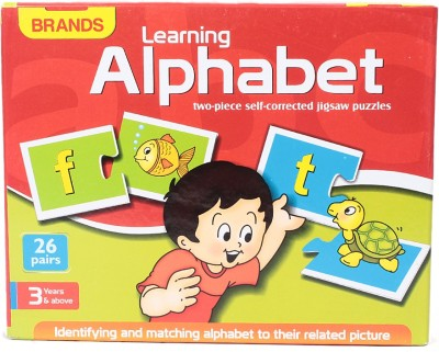 Brands Learning Alphabet