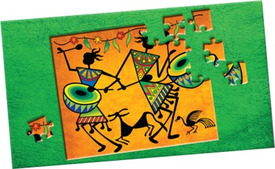 TOY KRAFT Madhubani Art 2 in 1