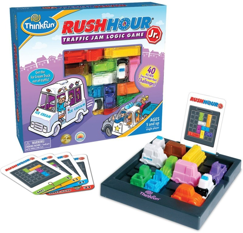 Thinkfun Rush hour Junior(1 Pieces)