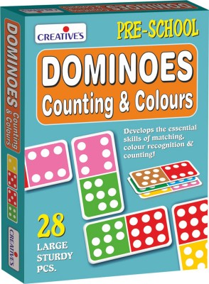 Creative's Dominoes - Counting & Colours