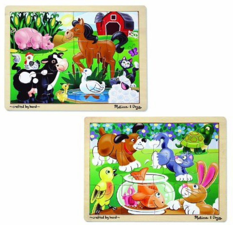 Melissa & Doug Farm & Pets(12 Pieces)