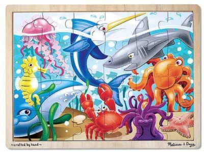 Melissa & Doug Under The Sea Jigsaw (24 Pc)