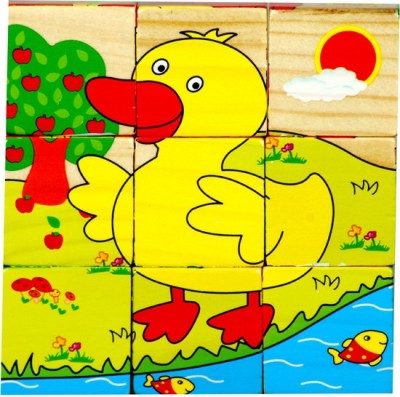 Montez Animal Block Wooden Puzzle