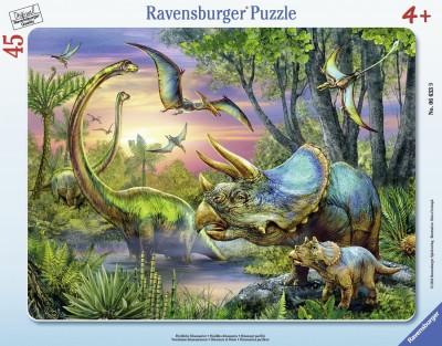 Ravensburger Dinosaurs at Dawn Frame
