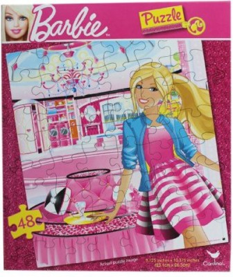 Mattel Barbie Jigsaw Puzzle