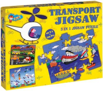 Sunny New Jigsaw Transport
