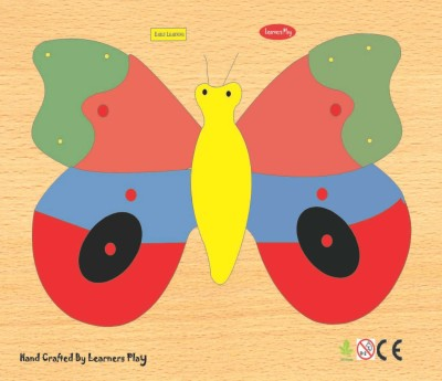 Learner's Play Butterfly Knob Puzzle