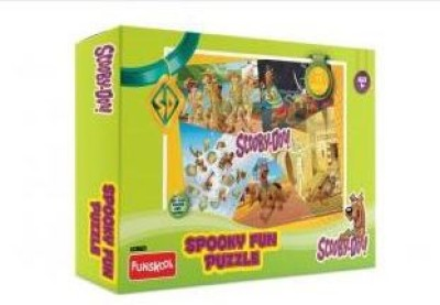 Warner Brothers Scooby Doo Spooky Fun 104 Pcs Puzzle
