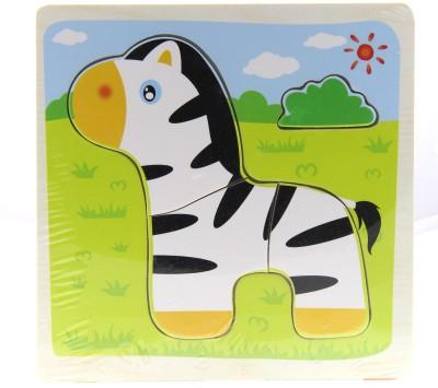 Treasure Trunk Puzzles-Thin - Zebra